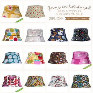Winter Vacation Baby Sun Hat Sale!