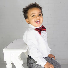 Bow Tie - Buffalo Plaid - Small Potatoes - 2