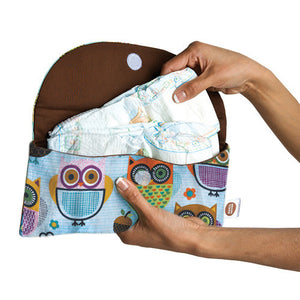 Lou Lou Blue Diaper Clutch - Small Potatoes - 2