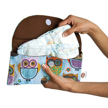 Tweet Tweet Street Diaper Clutch - Small Potatoes - 2