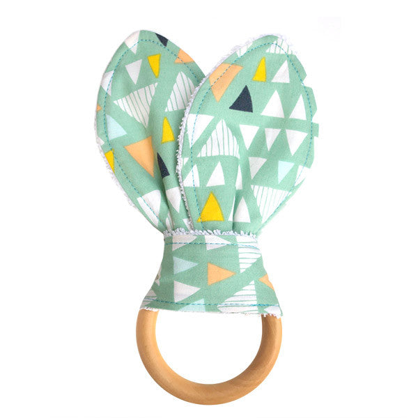 Mojave Aloe Wooden Baby Teether - Small Potatoes