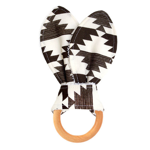 Nordic Diamonds Wooden Baby Teether