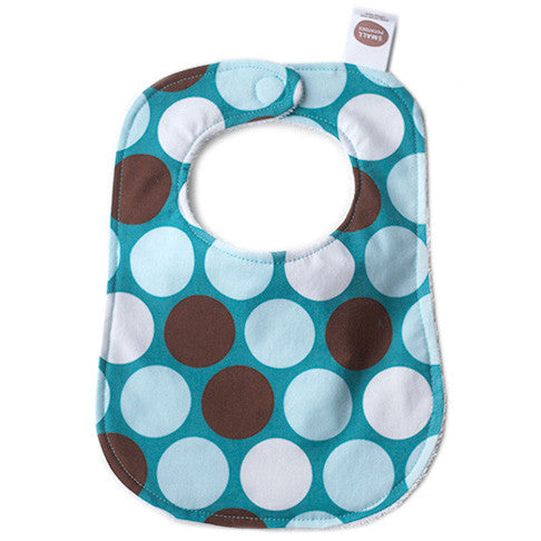 All-Star Blue Dots Bib - Small Potatoes