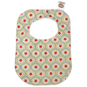All-Star Damask Bib - Small Potatoes