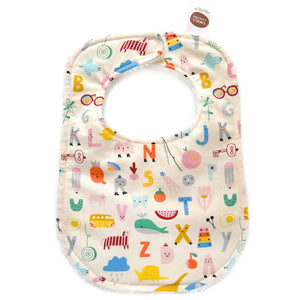 Animal Alphabet Bib
