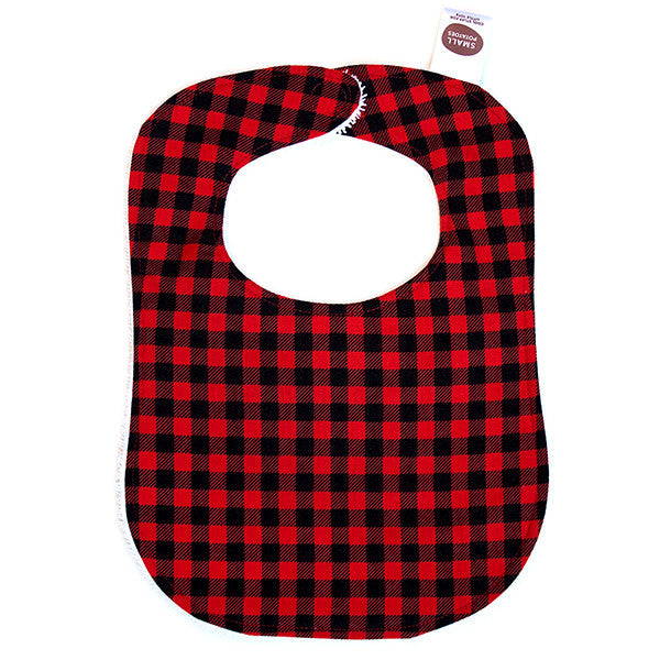 Buffalo Plaid Bib - Small Potatoes