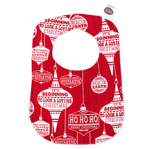 Christmas Ornaments Bib - Small Potatoes