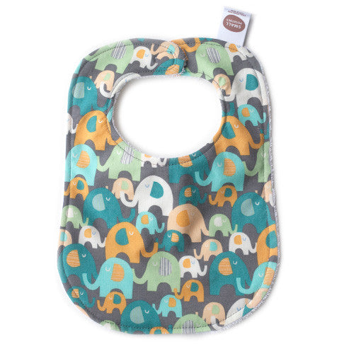 Elephant Splash Bib - Small Potatoes