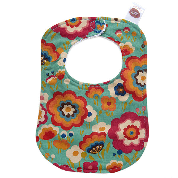 Flying Colours Teal Bib - Small Potatoes