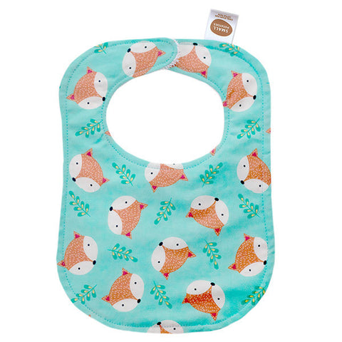 Foxy Faces Bib