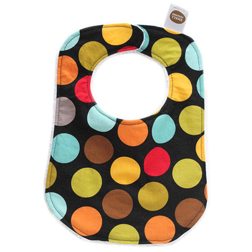 Gum Ball Dark Bib - Small Potatoes