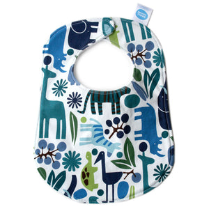Mod Zoo Blue Bib - Small Potatoes