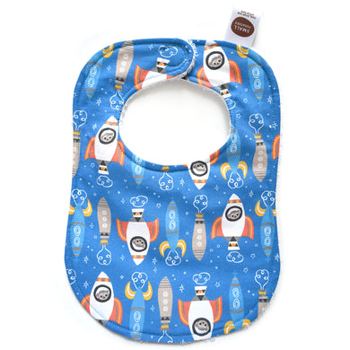Space Monkeys Bib