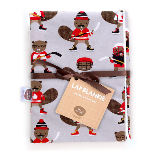 Hockey Beavers Lap Blankie