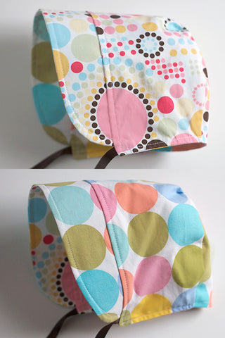 Mod Dots Pastel / Light Bright Bonnet