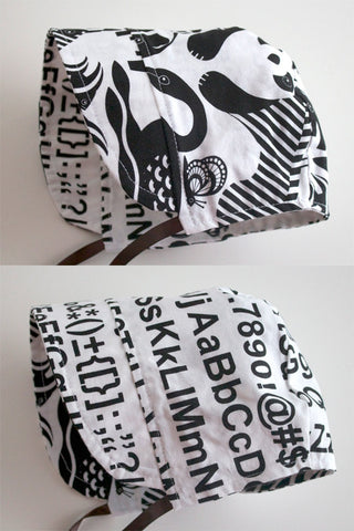 Panda Friends / Helvetica Bonnet