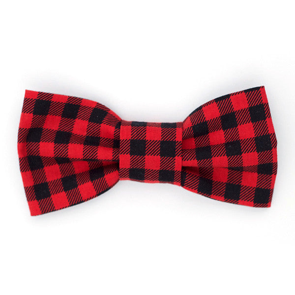 Bow Tie - Buffalo Plaid - Small Potatoes - 1