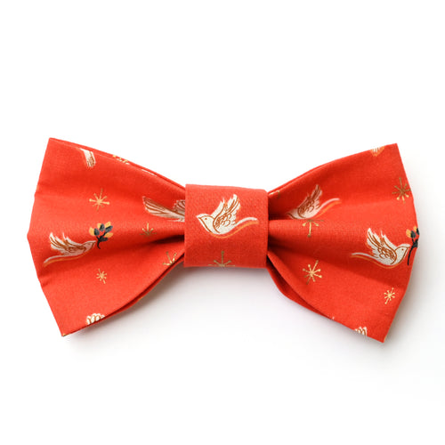 Candlelight Doves Bow Tie