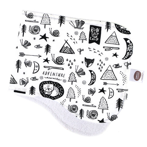 Adventure Awaits Burp Cloth