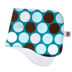 All-Star Blue Dots Burp Cloth - Small Potatoes - 1