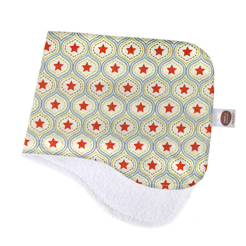 All-Star Damask Burp Cloth - Small Potatoes - 1
