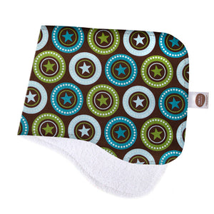 All-Star Medallion Burp Cloth - Small Potatoes - 1