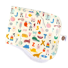 Animal Alphabet Burp Cloth