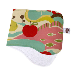 Avant Orchard Blue Burp Cloth - Small Potatoes - 1