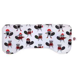 Burly Beavers Burp Cloth - Small Potatoes - 2