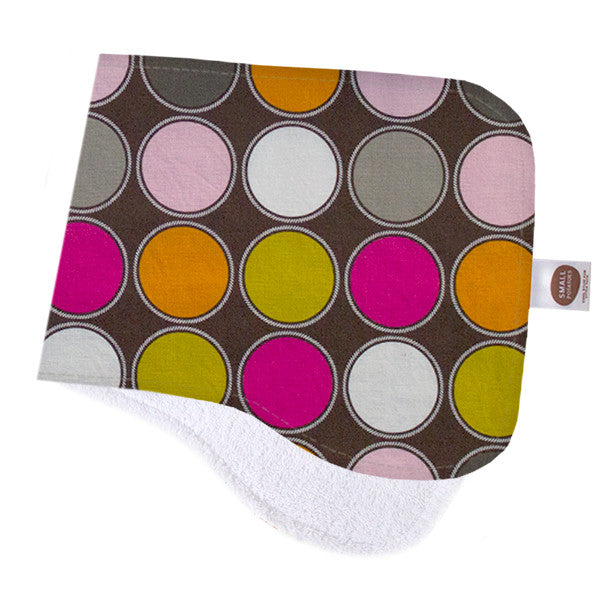 Camelot Dots Burp Cloth - Small Potatoes - 1