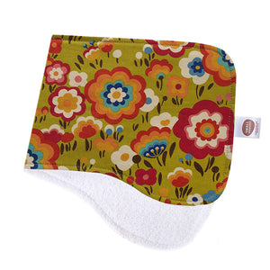 Flying Colours Green Burp Cloth - Small Potatoes - 1