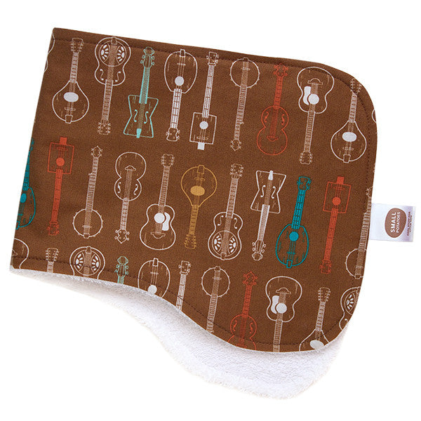 Folk Guitars Burp Cloth - Small Potatoes - 1
