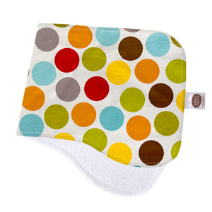 Gum Ball Light Burp Cloth - Small Potatoes - 1