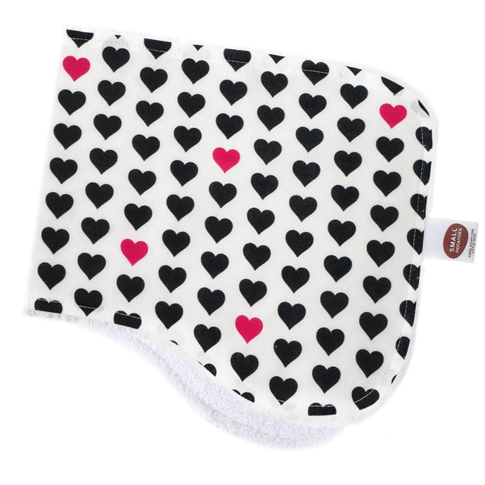 Lovey Lovey Burp Cloth
