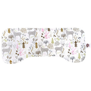 Hello My Friends White Burp Cloth - Small Potatoes - 2