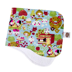 Kawaii Sky Burp Cloth - Small Potatoes - 1