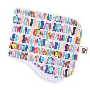 Little Library Burp Cloth