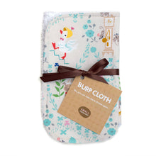 Mother Goose Burp Cloth