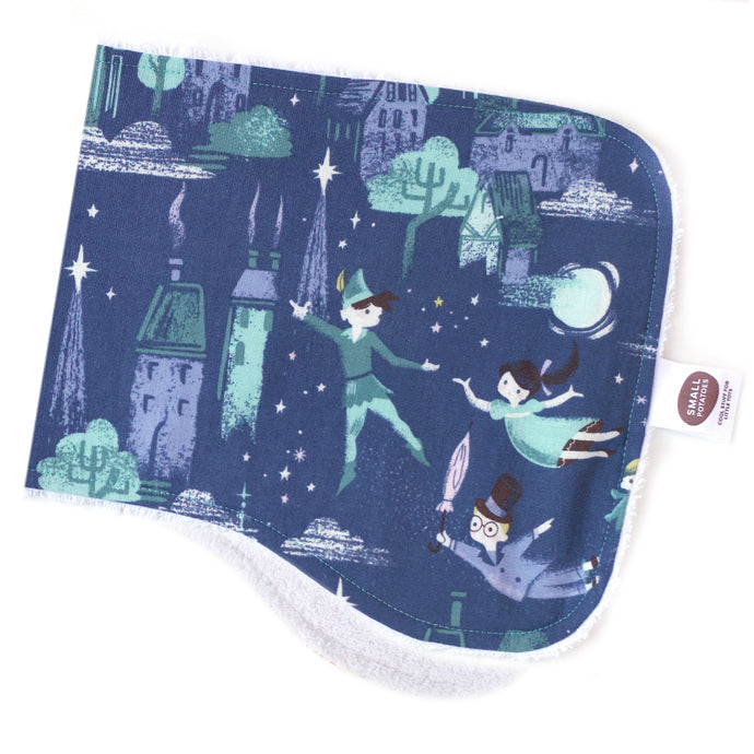 Neverland Flight Burp Cloth