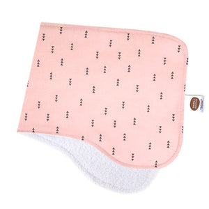 Nordic Arrows Rose Burp Cloth - Small Potatoes - 1