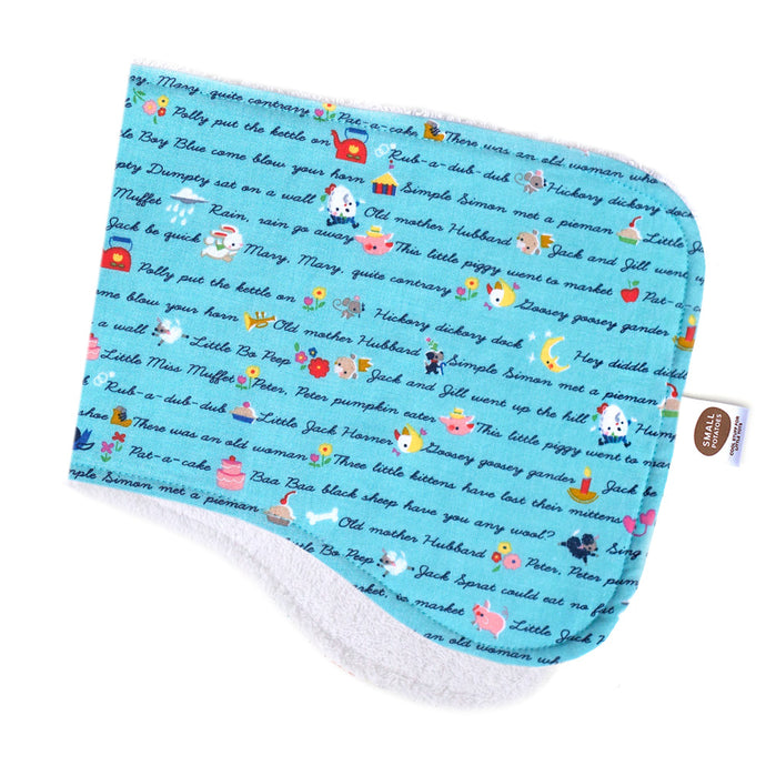 Once Upon a Rhyme Burp Cloth
