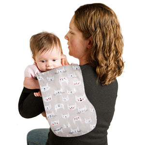Playful Penguins Burp Cloth