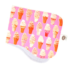 Soft Serve Burp Cloth