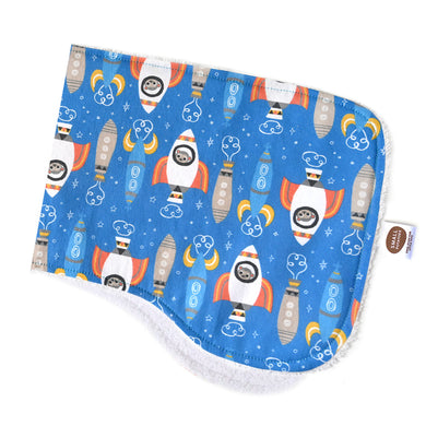 Space Monkeys Burp Cloth