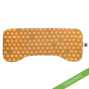 Starburst Orange Burp Cloth - ORGANIC - Small Potatoes - 2