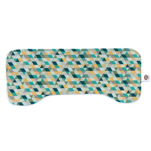 Totally Triangles Burp Cloth