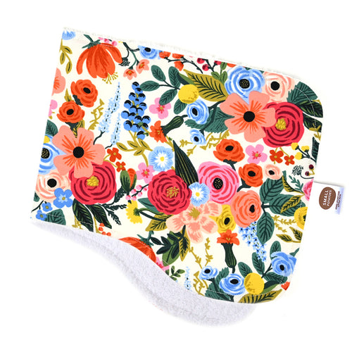 Wildwood Garden Burp Cloth