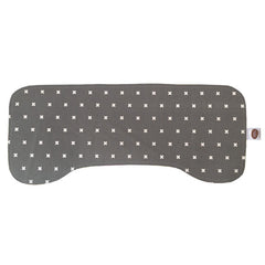 XOXO Grey Burp Cloth - Small Potatoes - 2