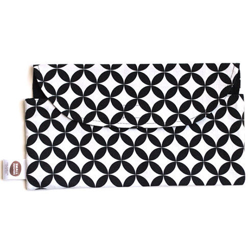 Black Diamond Diaper Clutch - Small Potatoes - 1