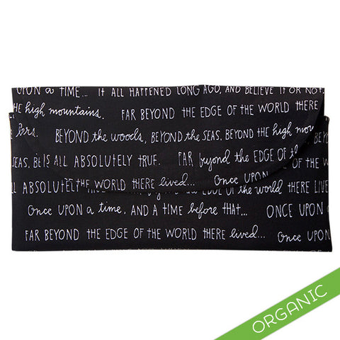 Once Upon A Time Diaper Clutch - ORGANIC